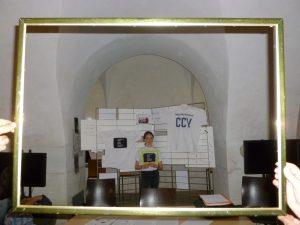 Exposition des t-shirt du collège de Callot (Vandoeuvre)