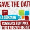 Save the date ! 9 au 24 mai 2015