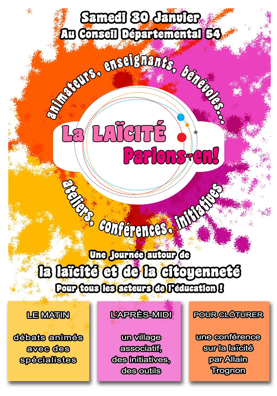 Forum laicité plaquette info recto