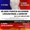 La Ligue de l'enseignement 54 organise un séjour franco-allemand linguistique et sportif du 9 au 19 juillet 2019 pour des enfants de 9 à 13 ans.  12 enfants français […]