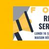 Lorraine Mouvement Associatif et ses membres vous proposent de participer à une après -midi dédiée au recrutement Service Civique le lundi 16 septembre 2019 de 14h00 à 17h00 à la […]
